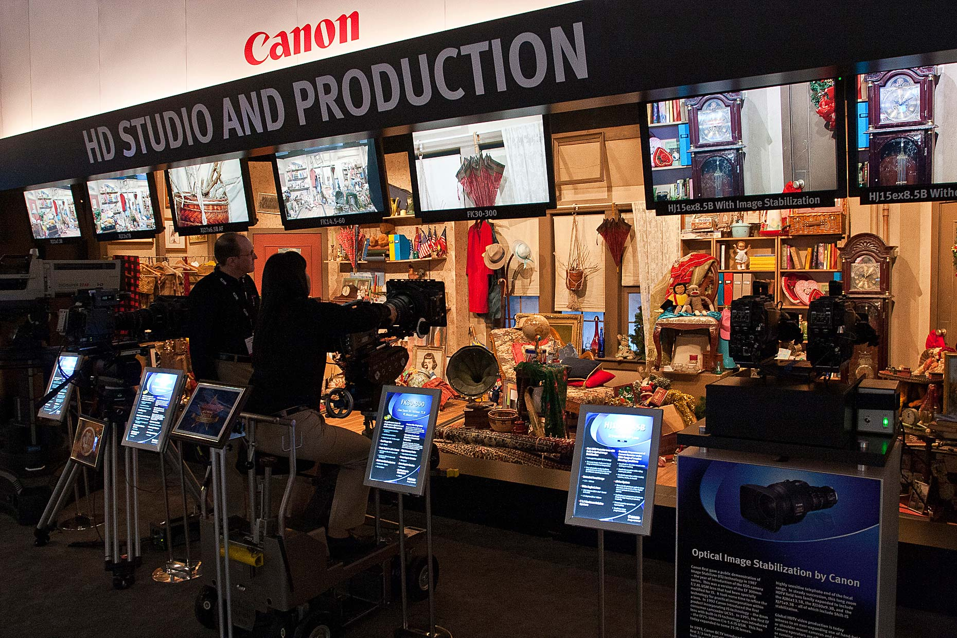 11 Canon NAB 2011 Booth