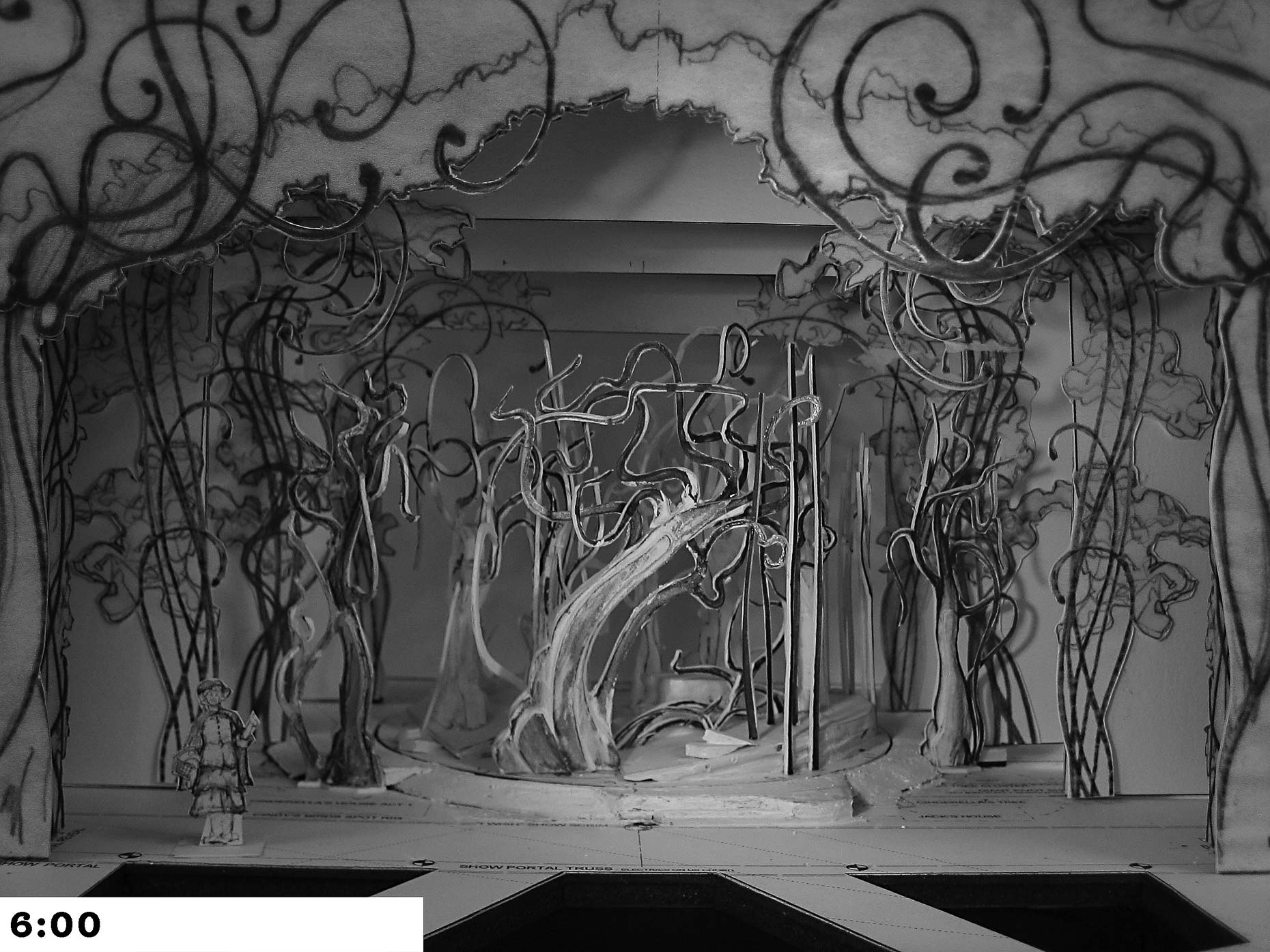 12-INTO THE WOODS Woods sketch