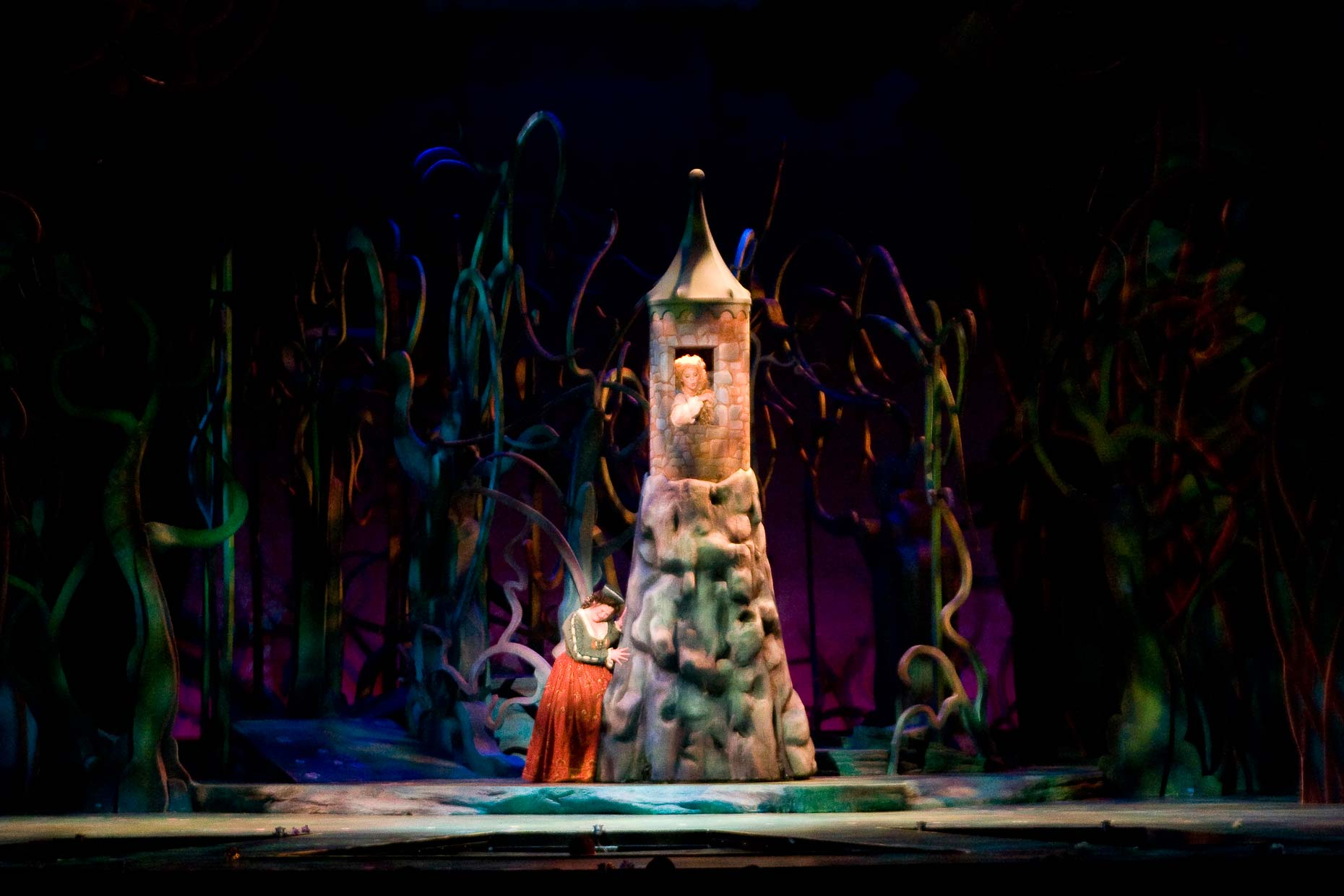 INTO THE WOODS Rapunzel #SetDesign #ScenicDesign #LiveEntertainment #LiveDesign #MusicalDesign