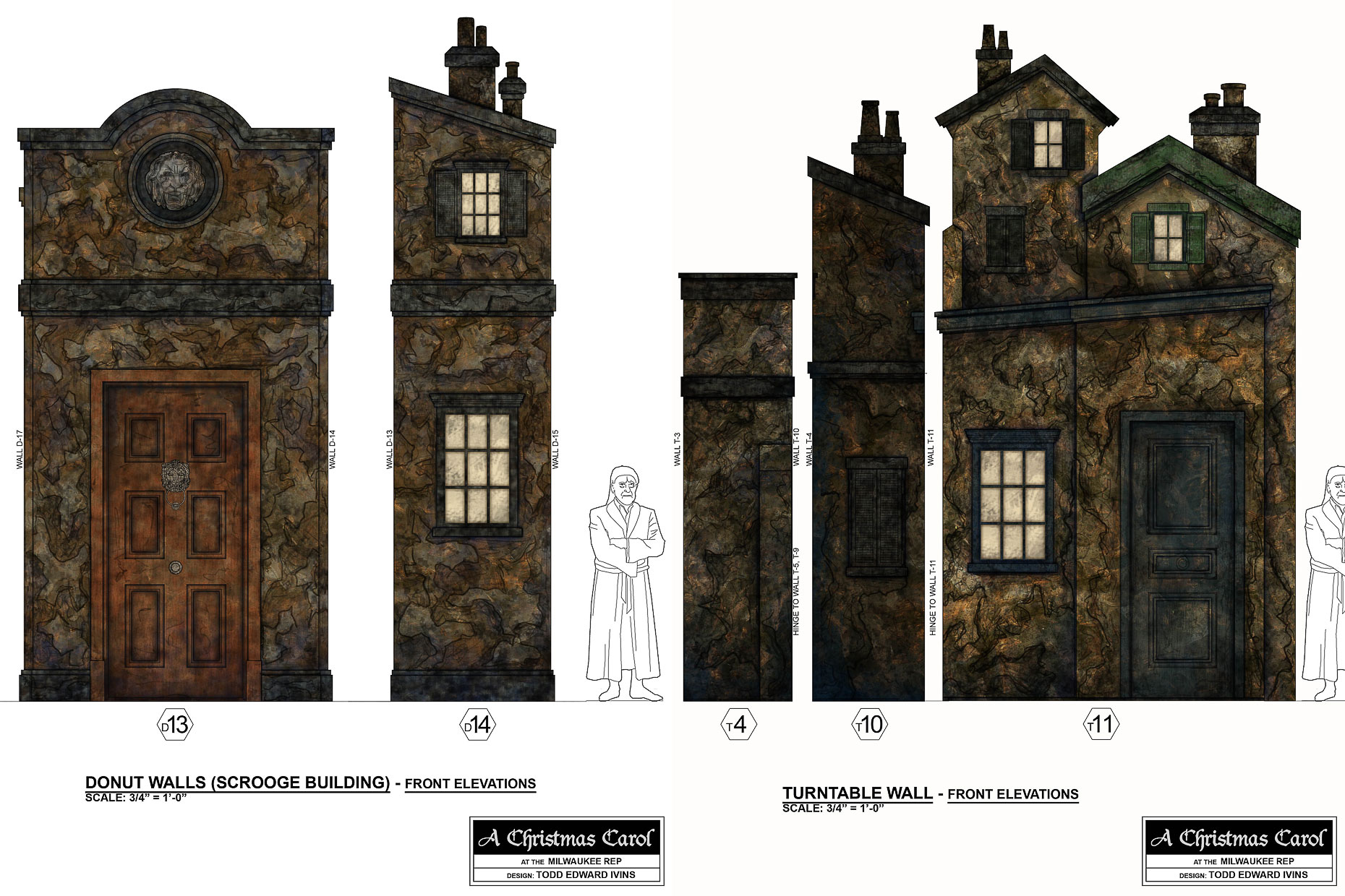A Christmas Carol Paint Elevation